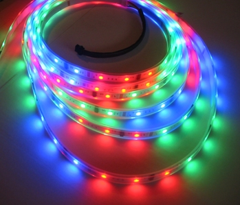 Digitálny 5V LED Magic RGB pásik WS2613 PREMIUM, 5m, 50pixelov/5m, 14,4W/m, 60LED, 5V, IP20