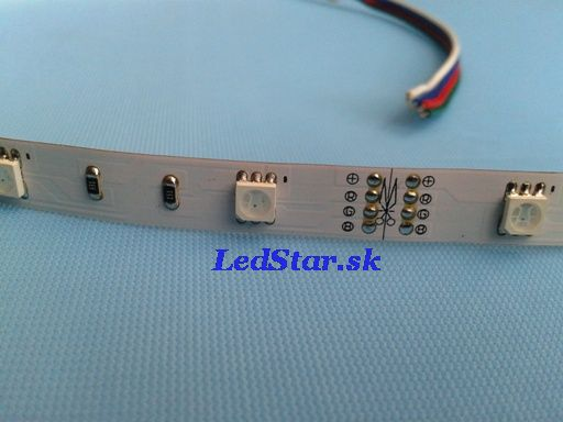RGB LED pásik, SMD5050, 150LED, 12V